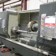 USED HAAS MODEL ST-40L BIG BORE LONG BED CNC LATHE WITH TAILSTOCK & HAAS CNC CONTROL, 18″ CHUCK