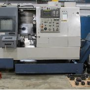 "USED MORI SEIKI MODEL ZL-15SMC 5-AXIS CNC LATHE WITH TWIN TURRETS, LIVE TOOLING, SUB-SPINDLE, C-AXIS AND FANUC CONTROL, 6"" 3-JAW CHUCK ON MAIN, 4"" 3-JAW CHUCK ON SUB"