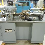 USED HARDINGE MODEL HLV-H (KL-1) PRECISION TOOLROOM LATHE, 11″ X 18″