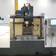 USED HAAS MODEL VF-4SS SUPER-SPEED VERTICAL MACHINING CENTER WITH HAAS CONTROL, 50″ X 20″ X 25″