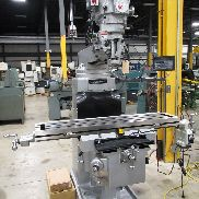 "NEW SHARP MODEL TMV HEAVY DUTY VERTICAL MILL, 10 ""X 50"""