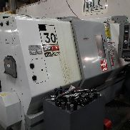 USED HAAS MODEL SL-30 CNC LATHE WITH HAAS CONTROL, 12″ CHUCK