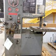 UTILISÉ DO-ALL MODEL 2612-2H VERTICAL BANDSAW, 26 ""