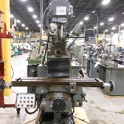 "USED SHARP MODEL VH2 HORIZONTAL/VERTICAL MILL, 9"" x 54"""
