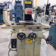USED KENT MODEL KGS-200 HAND FEED SURFACE GRINDER, 6″ X 12″