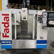 "USED FADAL MODEL 2016L VERTICAL MACHINING CENTER, 20"" X 16"" X 20"""