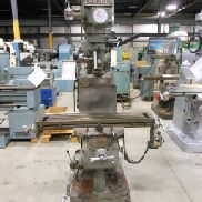 USED ALLIANT MODEL RT2 VERTICAL MILL, 9″ X 42″