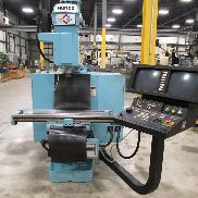 USED HURCO MODEL KM3 CNC VERTICAL MILL, 12″ X 42″