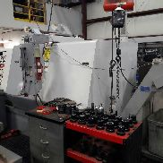 USED HAAS MODEL SL-30BB CNC LATHE WITH LIVE TOOLING, TAILSTOCK & HAAS CONTROL, 15″ CHUCK
