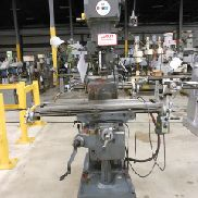USED LAGUN MODEL FTV-1 VERTICAL MILL, 10″ X 44″