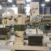 GEBRAUCHTE GIDDINGS & LEWIS BICKFORD MODELL CHIPMASTER 951 RADIAL DRILL, 4 'X 9 ""