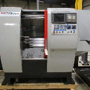 "USED EMCO EMCO-TURN 345II CNC LATHE WITH TAILSTOCK AND FANUC 21iT CONTROL, 1.75"" BAR CAPACITY"