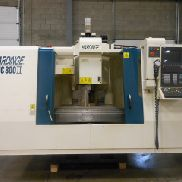 USED HARDINGE MODEL VMC800II VERTICAL MACHINING CENTER WITH SIEMENS 810D CONTROL, 30″ X 20″ X 20″
