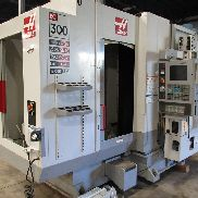 "USED HAAS MODEL EC-300 HORIZONTAL MACHINING CENTER, 11.81"" X 11.81"" PALLETS"
