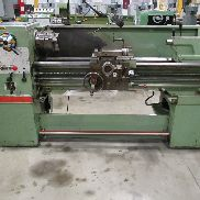 USED CLAUSING COLCHESTER MODEL 8031 GEARED HEAD, STRAIGHT BED ENGINE LATHE, 15″ X 50″