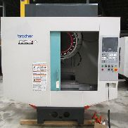 "USED BROTHER MODEL TC-S2DN-O CNC DRILL AND TAP CENTER WITH BROTHER CNC-B-00 CONTROL, 27.6"" X 15.7"" X 11.8"""
