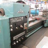"USED TOS MODEL SU-125 HEAVY DUTY UNIVERSAL CENTER LATHE, 50"" X 240"""