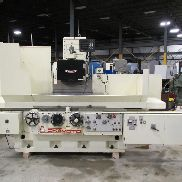 "USED OKAMOTO MODEL PSG-125 HYDRAULIC 3-AXIS AUTOMATIC COLUMN TYPE PRECISION SURFACE GRINDER, 20"" X 48"""
