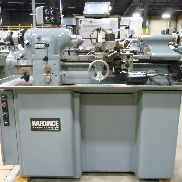 USED HARDINGE HLV-H TOOLROOM LATHE, 11″ x 18″
