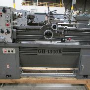 USED JET MODEL GH-1340R GEARED HEAD GAP BED ENGINE LATHE, 13″ X 40″