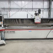 USED MITSUBISHI MODEL MWX4-612 CNC WATER JET CUTTING SYSTEM, 6' X 12'