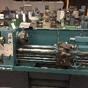 USED CLAUSING COLCHESTER MODEL 8054 GEARED HEAD GAP BED ENGINE LATHE, 17″ X 60″