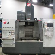 USED HAAS MODEL VF-3YT-50 GEARED HEAD VERTICAL MACHINING CENTER & HAAS CONTROL, 40″ X 26″ X 25″