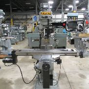 USED SUPERMAX MODEL YCM-1-1/2VA 2-AXIS CNC VERTICAL MILL WITH PROTOTRAK MX2 CONTROL, 9″ X 49″