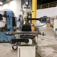 "USED ​​RBI MODEL 305VS 2-AXIS CNC VERTICAL BED MILL С TRAK A.G.E 2 CONTROL, 9 ""X 42"""