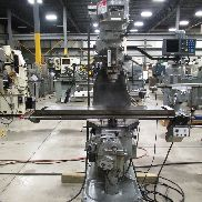 USED BRIDGEPORT SERIES I MODEL 2J VARIABLE SPEED VERTICAL MILL, 9″ X 48″