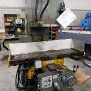 USED CINCINNATI MODEL 207MK VERTICAL MILL, 53″ X 12″ TABLE
