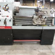 "USED CLAUSING COLCHESTER MODEL 8030 GEARED HEAD STRAIGHT BED ENGINE LATHE, 15"" X 30"""