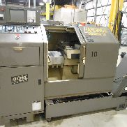 USED HARDINGE MODEL GT-27SP GANG TOOL CNC LATHE WITH GE FANUC 18T CNC CONTROL, 1-1/16″