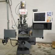 "NEW REMEDY MODEL 3VK 2-AXIS CNC VERTICAL KNEE MILL WITH CENTROID M400i CNC CONTROL, 10"" x 54"""