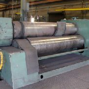 USED SMT PULLMAX PV-7H-2500/0550 PLATE BENDING ROLL WITH 3 ROLLS, 2″ X 8′