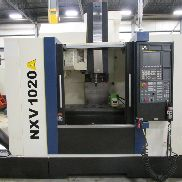 USED YCM SUPERMAX MODEL NXV1020A VERTICAL MACHINING CENTER WITH TSUDAKOMA RZ-160 ROTARY TABLE & FANUC OiMD CONTROL, 40″ X 20″ X 21″