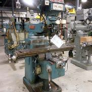 USED VICTOR MODEL 380V VARIABLE SPEED VERTICAL MILL, 10″ X 50″