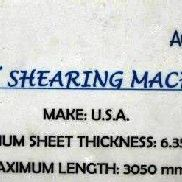 BEST SHEARING MACHINE (HYDRAULIC)