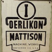 OERLIKON – MATTISON SURFACE GRINDER