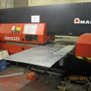 Punching machine Amada Europe 245 with Loader L 250 and PR 250 UL Partremover
