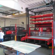 Punching machine Amada EMZ 3612 M II with P & F + Tapping