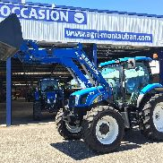 New Holland T6020 Elite + Stoll + Bucket