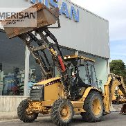 CATERPILLAR 428 C MIXED BACKHOE