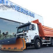 VOLVO FM 66 B3 400 6X6 TRUCK WITH ACCESSORY snowplow.