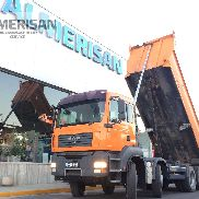MAN TGA 41.400. TIPPER 8X4 MANUAL CHANGE