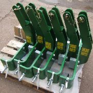 Zuidberg front linkage weight frame carriers to fit John Deere weight blocks