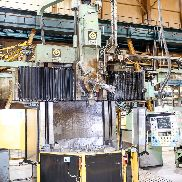 "Giddings & Lewis - Fraser 48"" Single Column Elevating Rail CNC Vertical Boring & Turning Machine. With G&L-NumeriPath Control"