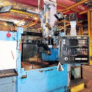 WEBSTER & BENNETT S TYPE 1250mm CNC Turret Type Vertical Borer, Fanuc 6T Control