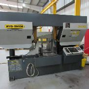 "HYD-MECH H-22A 22"" / 558mm Automatic Double Column Horizontal Bandsaw. Capacity 22"" / 558mm dia or 22"" x 22"" / 558mm x 558mm Square. Year of Manufacture 2008."