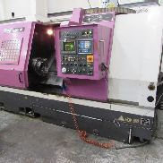 YANG CK3B CNC Lathe. Serial No. 010141. Manufactured December 1999. Fanuc O-T control.